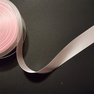 Birch - Craft Satin Ribbon 25mm Light Pink (Per meter)