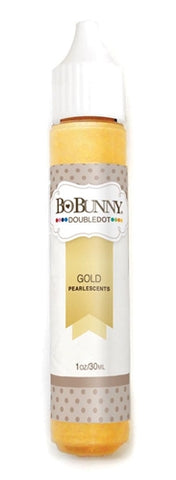 BoBunny - Double Dot Pearlescent Tubes - Gold