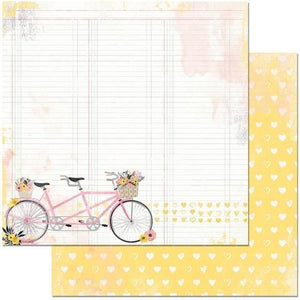 BoBunny 12x12 Double sided Cardstock - Petal Lane - Posh