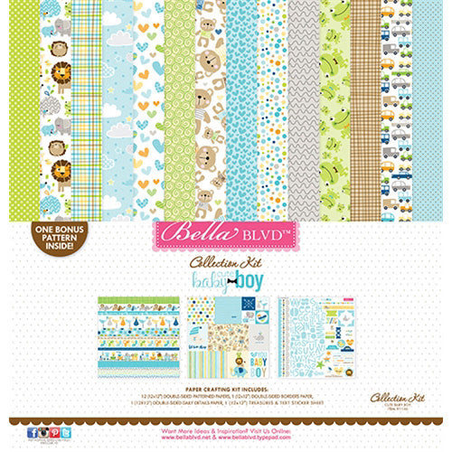 Bella Blvd - Cute Baby Boy - Collection Kit (12 x 12)