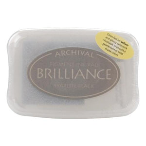 Brilliance Ink Pad - Starlite Black