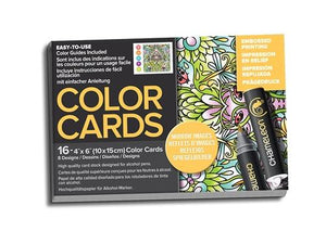 Chameleon Embossed Printing Color Cards - Mirror Images