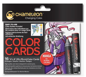 Chameleon Color Cards - Manga by Sonia Leong