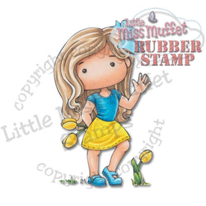CC Designs Cling Stamp - Polka Dot Pals Jane