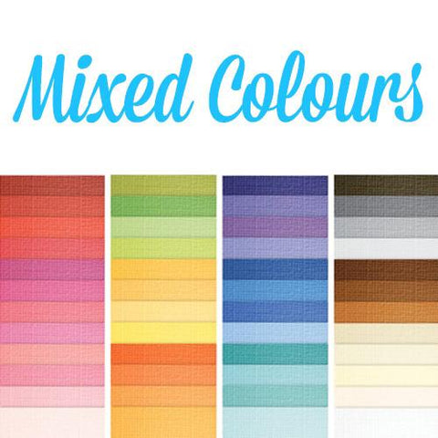 Mixed Core'dinations Cardstock Pack - 20 Sheets (12 x 12 Inch)