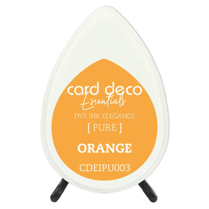 Card Deco Essentials Fade-Resistant Dye Ink Orange | Couture Creations