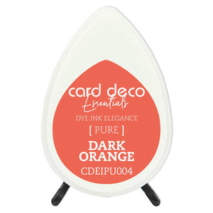 Card Deco Essentials Fade-Resistant Dye Ink Dark Orange | Couture Creations