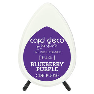 Card Deco Essentials Fade-Resistant Dye Ink Blueberry Purple | Couture Creations
