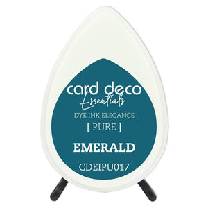 Card Deco Essentials Fade-Resistant Dye Ink Emerald | Couture Creations