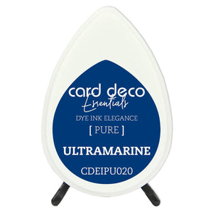 Card Deco Essentials Fade-Resistant Dye Ink Ultramarine | Couture Creations