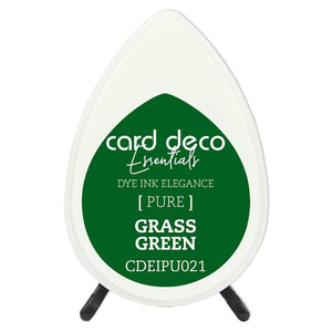 Card Deco Essentials Fade-Resistant Dye Ink Grass Green | Couture Creations