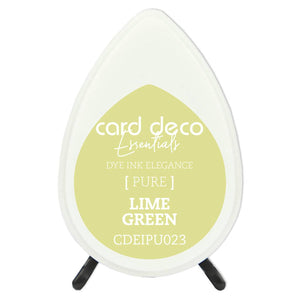 Card Deco Essentials Fade-Resistant Dye Ink Lime Green | Couture Creations