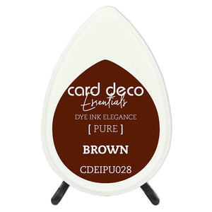 Card Deco Essentials Fade-Resistant Dye Ink Brown | Couture Creations