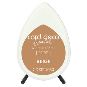 Card Deco Essentials Fade-Resistant Dye Ink Beige | Couture Creations