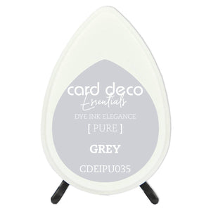 Card Deco Essentials Fade-Resistant Dye Ink Grey | Couture Creations
