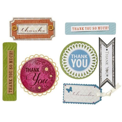 Core'dinations - David Tutera Celebrate Step 3 Sentiments Thanks 1  ,7 Pc