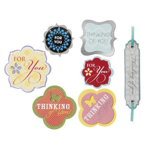 Core'dinations - David Tutera Celebrate Step 3 Sentiments For You 7 Pc