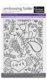 Embossing Folder 5x7 - FR - Smooch