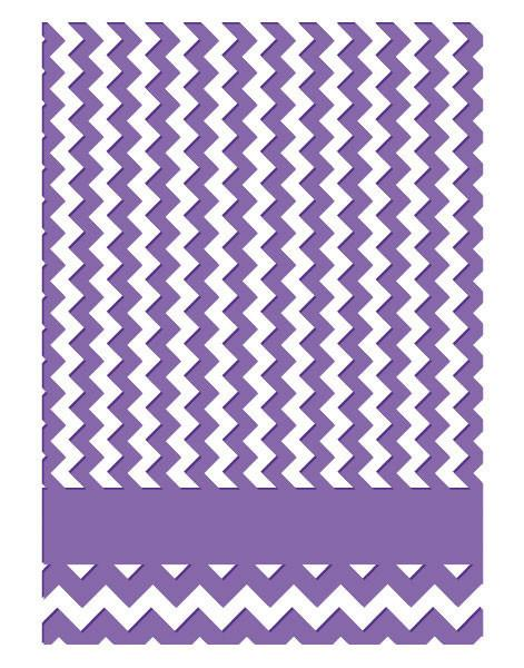 Emboss Folder 5x7 - HA - Chevron