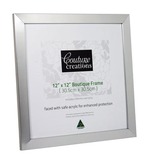 Boutique Frame - Silver Classic (12 x 12in)