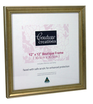 Boutique Frame - Classic Monarch Gold (12 x 12in)