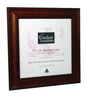 Boutique Frame - Colonial Maple (12 x 12in)