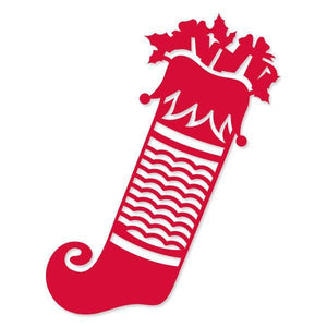 Christmas Stocking (35.5 x 79.36mm | 1.4 x 3.12in) - Merry Little Christmas WH