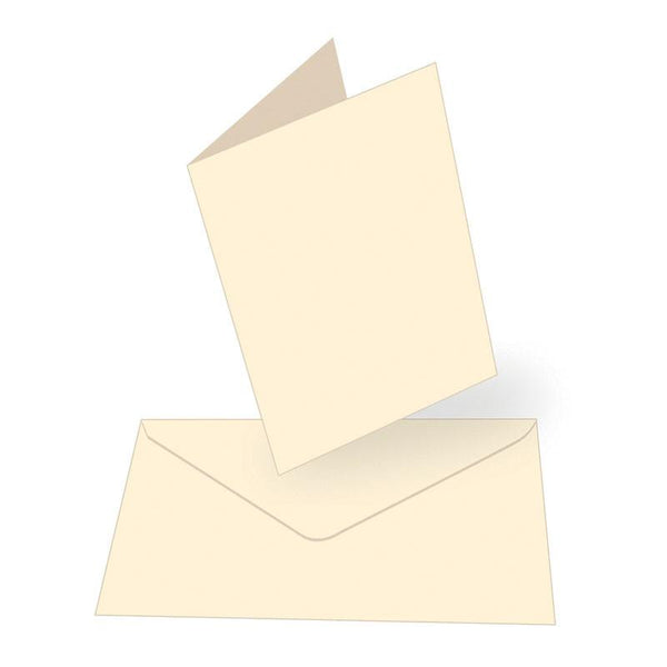Card + envelope set - Cream - A6 (50 Sets)