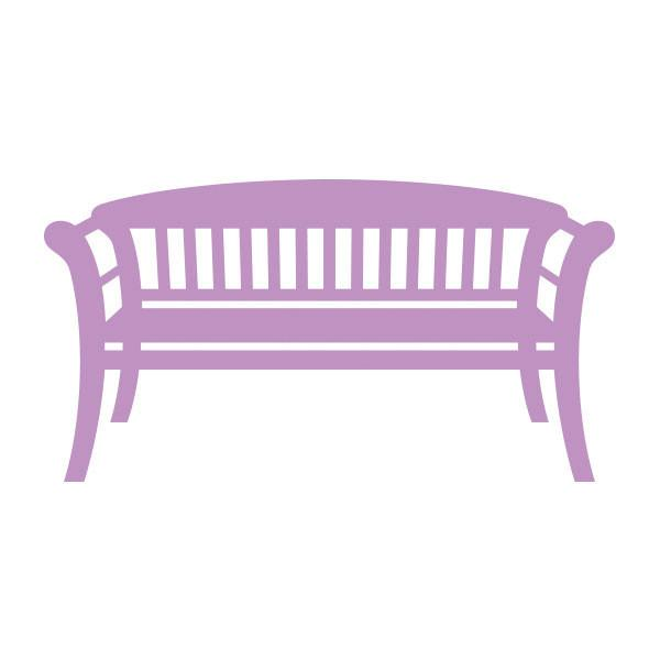 Die - SG - Park Bench (70x37mm | 2.7x1.4in)
