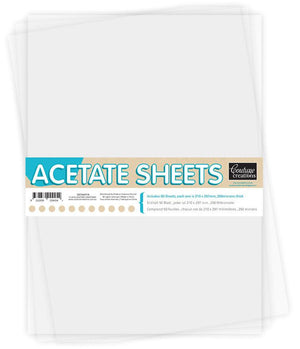 Acetate Sheets A4 (50pcs)