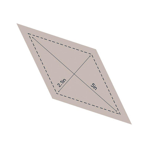 Die - QU - Quilting Diamond 5in