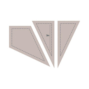 Die - QU - Quilting Kite 3in