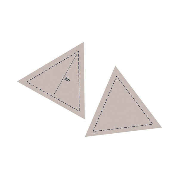 Die - QU - Quilting Equilateral Triangle 3in