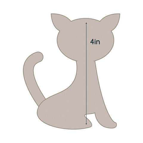 Die - QU - Quilting Applique - Cat
