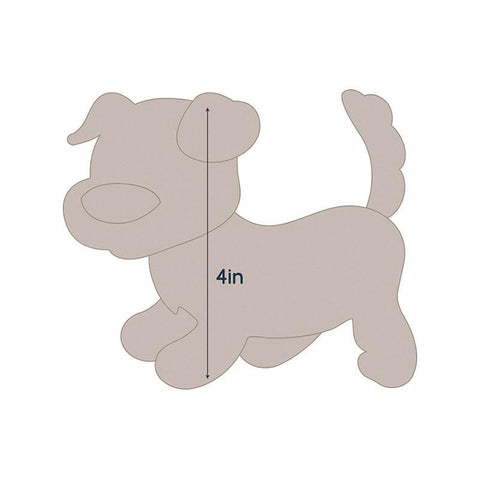 Die - QU - Quilting Applique - Dog 2
