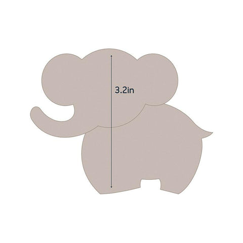 Die - QU - Quilting Applique - Elephant 1