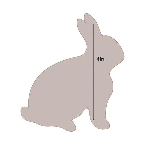 Die - QU - Quilting Applique - Rabbit 1