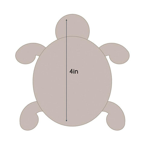 Die - QU - Quilting Applique - Turtle