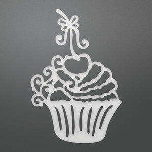 Die - BL - Decorative Cherry Cupcake