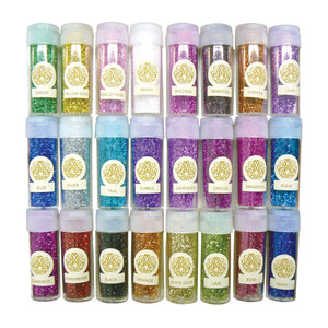 MIX - Fine Glitter Collection (0.37oz - 10.4g each - 24 pc)