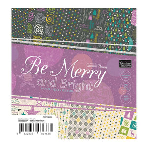 Paper Pad - BM - Be Merry and Bright 6x6 (24 dbl sheets)