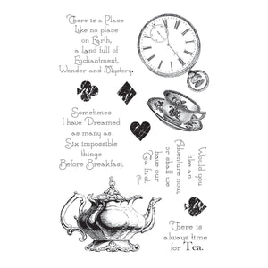 Stamp Set - ET - Enchanted Tea Party (4 x 6in - 11pc)