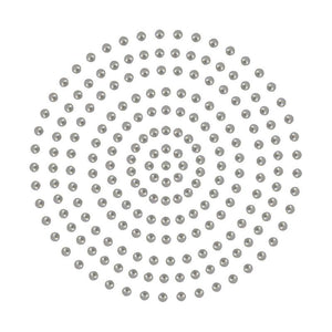 Adhesive Pearls - Silver Adhesive (2mm- 424pc)