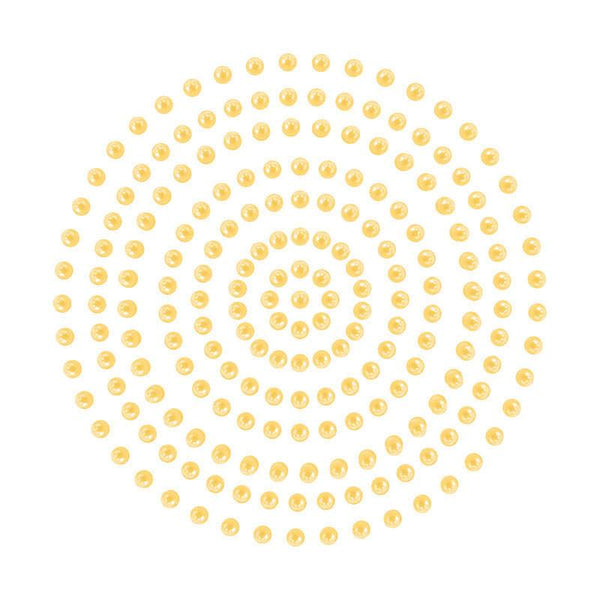 Adhesive Pearls - Sunflower (2mm- 424pc)