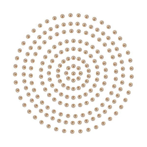Adhesive Pearls - Chocolate (2mm- 424pc)