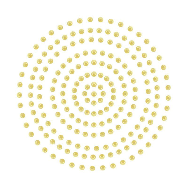 Adhesive Pearls - Champagne (2mm- 424pc)