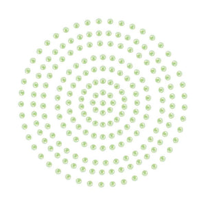 Adhesive Pearls - Soft Green (2mm- 424pc)