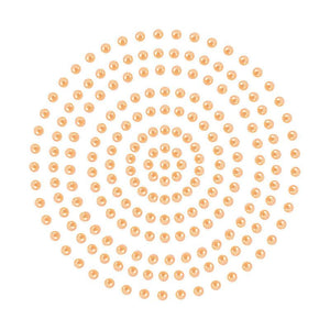 Adhesive Pearls - Soft Peach (2mm- 424pc)