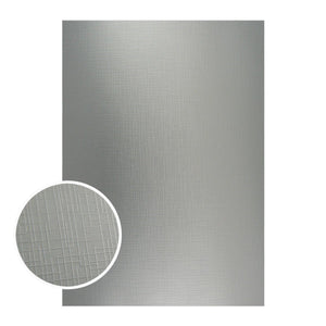 Mirror Foil Board - A4 Silver with draft lines (10pc - 210gsm)