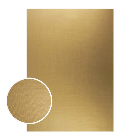 Mirror Foil Board - A4 Gold with draft lines (10pc - 210gsm)